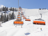 New ski lifts with seat heating